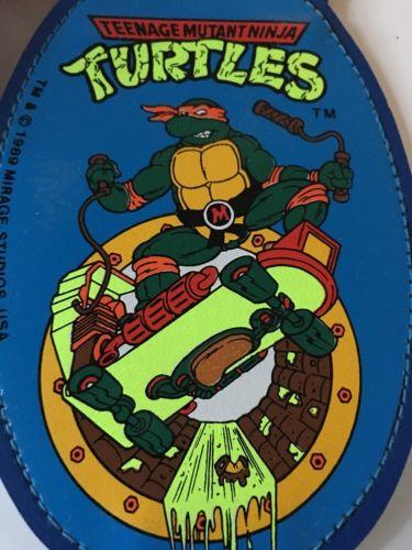 Vintage - TMNT - Michael Angelo - Suspenders - NEW - Ninja Turtles - Children's