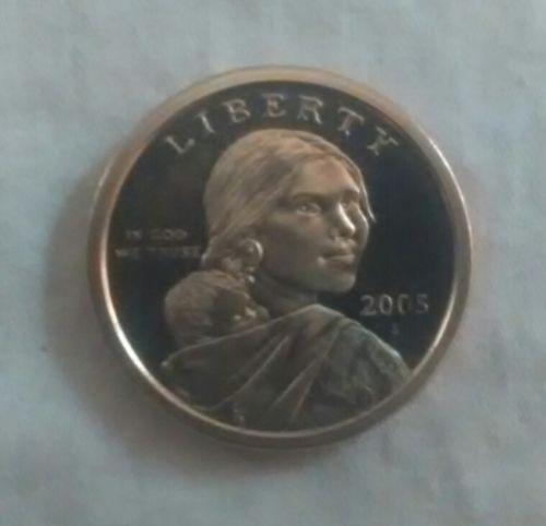 2005-S (Sacagawea) US One Dollar Coin