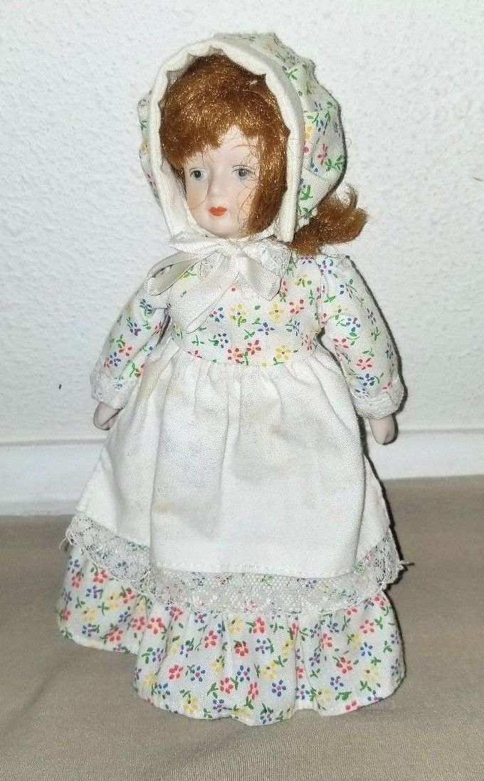 Vintage Antique Bisque Porcelain Gorham Zasan Victorian Doll 7.5