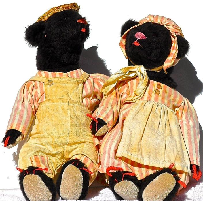 Papa Bear & Mamma Bear, a beautifully dressed couple