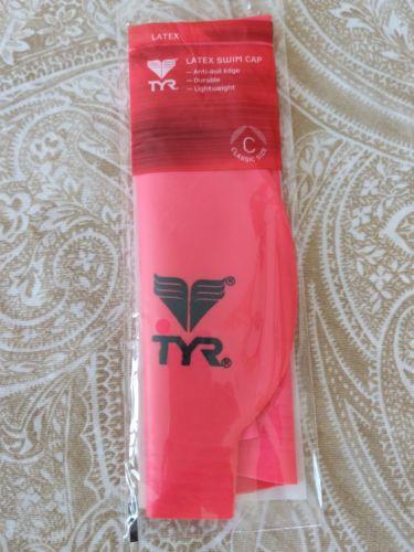 Used twice TYR Latex Swim Cap - Color pink