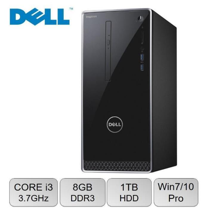 Dell Inspiron 3650 Desktop Intel Core i3-6100 , 8GB RAM, 1TB 7200RPM HDD
