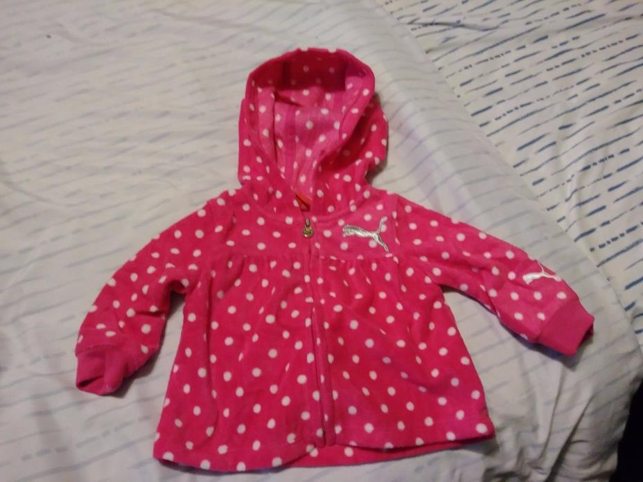 newborn baby/toddler girl hooded jacket