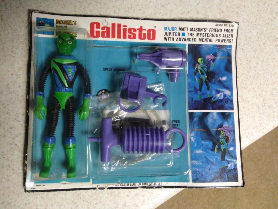 Mattel's Major Matt Mason's Callisto