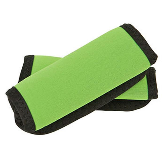 Travelon Set of 2 Green Baggage ID 12340-440 Luggage Travel Comfort Handle Wraps