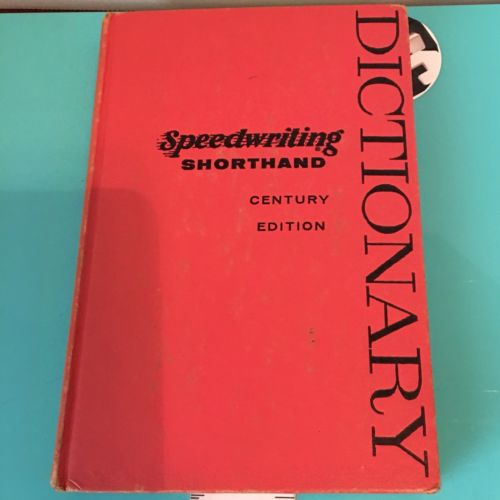 Speedwriting Dictionary - Vintage 1954