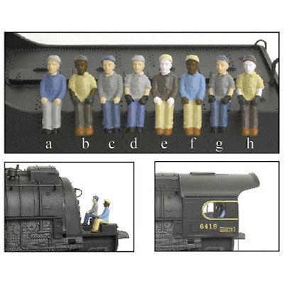 Broadway Limited BLI1004 HO Engineer/Fireman A (a&b) (2)