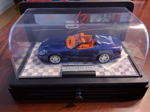 Franklin Mint Diecast Callaway C12 Corvette Signed 3193/3500