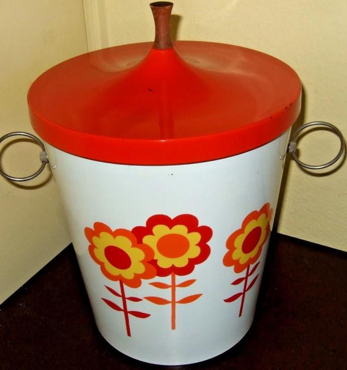 Ice Bucket Japan Yellow orange red Flowers 9