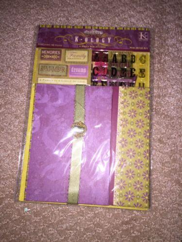 K-ology Mini Book Kit - Whole New Attitude By K & Company - NIP