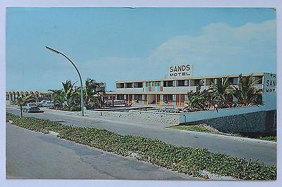 Postcard Sands Motel Avenue Del Mar On the Beach Mazatlan Mexico Posted
