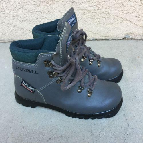 Vintage Merrell Ski Boots Cross Country Ski Boots Nnn Bc Venture Women Size 5 A