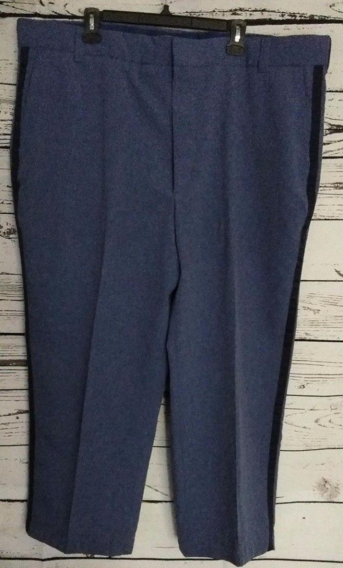 Men's Union Line Postal City Carrier Blue Pants Size 46/26 Regular Waist