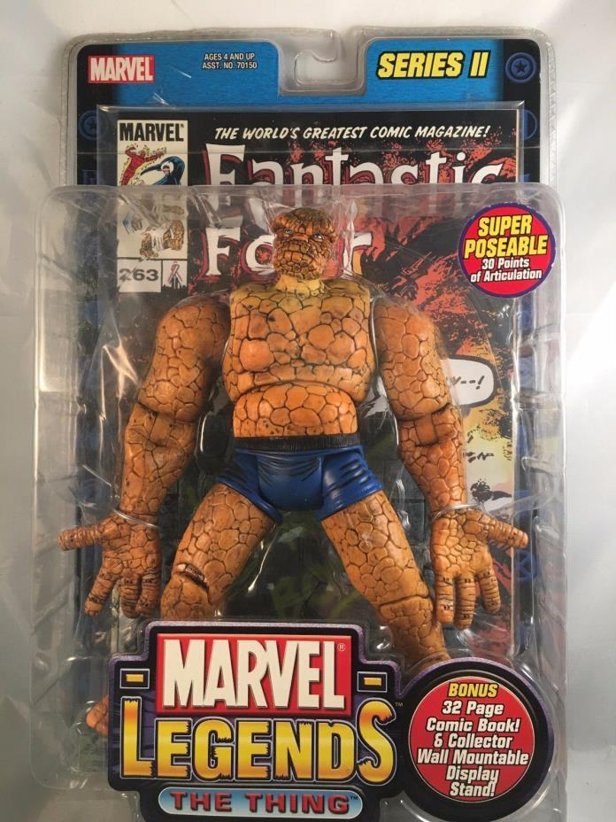 Marvel Legends Series 1 The Thing 2002