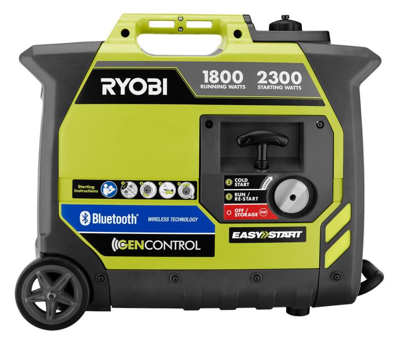 Ryobi 2300-watt Bluetooth Portable Gas Power Inverter Generator SHIP TO PR