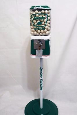 SINCLAIR dino gas gumball machine penny machine glass globe bar accessories