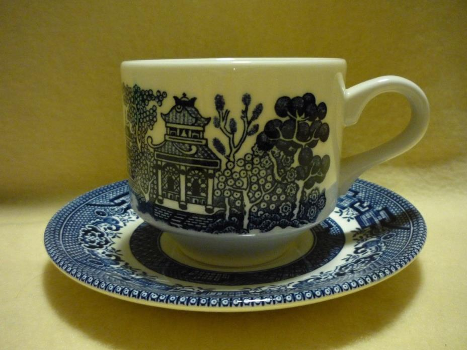 Cup and Saucer, Churchill England