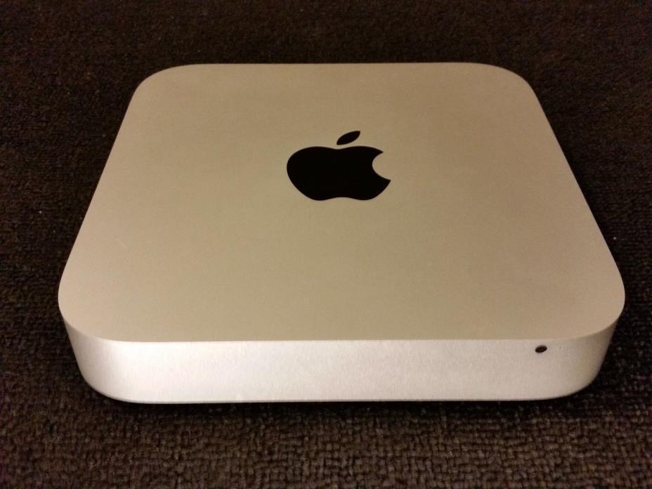MINT Apple Mac Mini 3.1GHz Core i5 1TB Fusion 8GB RAM Iris GFX AppleCare+