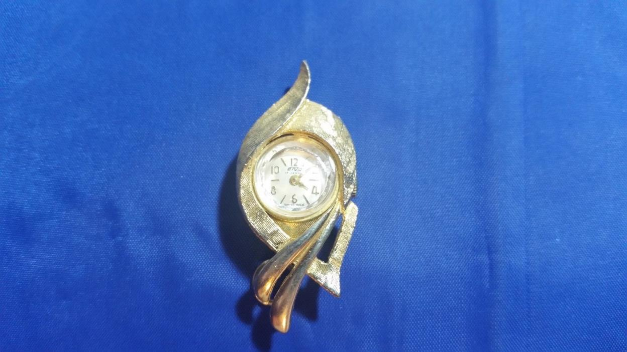 Vintage Enzo 17 jewels Swiss Made Pendant Women's Watch