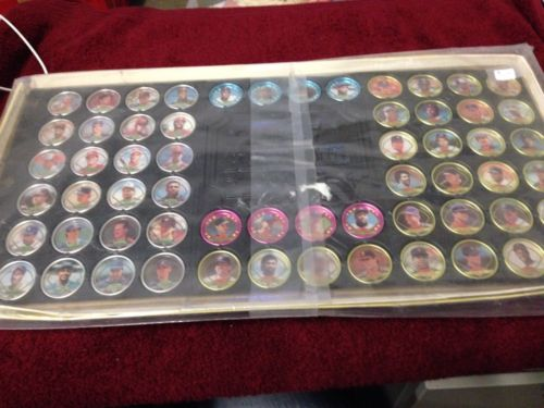 Topps 1990 Baseball Coins Complete Set of 60 Coins