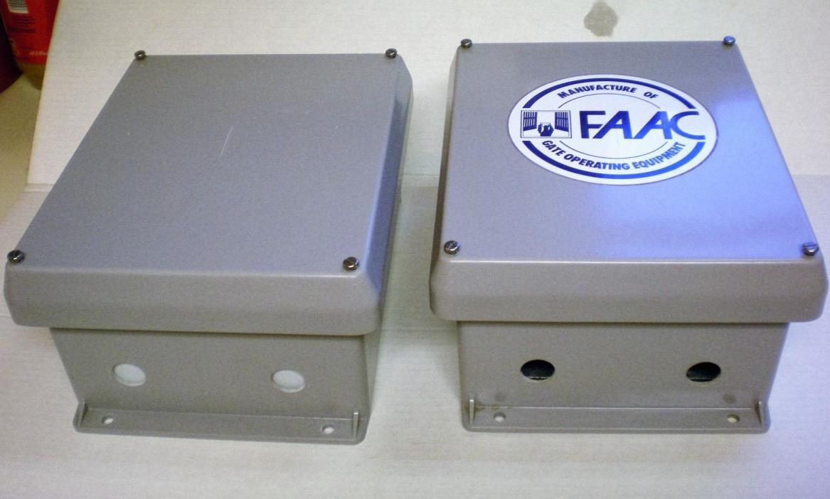 FAAC - FOUR CONTROL PANEL ENCLOSURES - VYNCKIER- VYNCO VJ1008W Non-Metallic