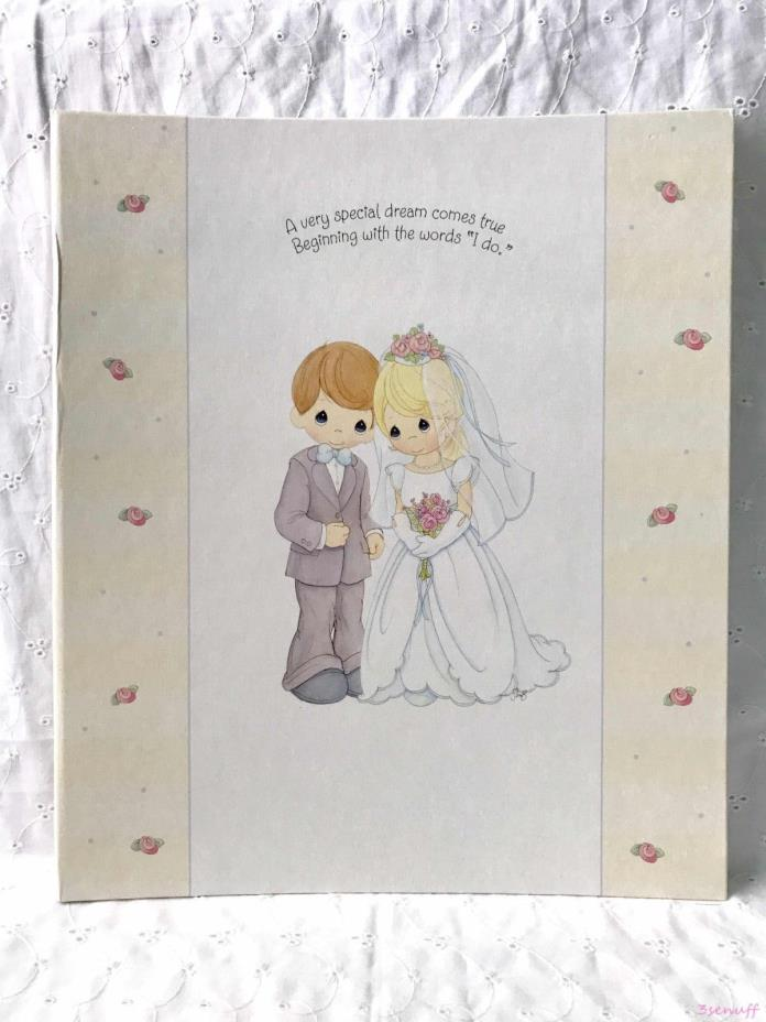 Precious Moments Wedding Photo Album & Matching Guest Book~Hallmark~Clearance
