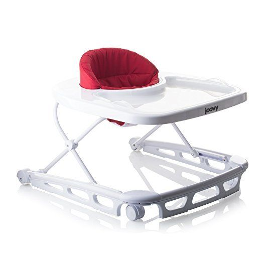 Joovy Spoon Walker, Red provides perfect balance combines walker and high chair