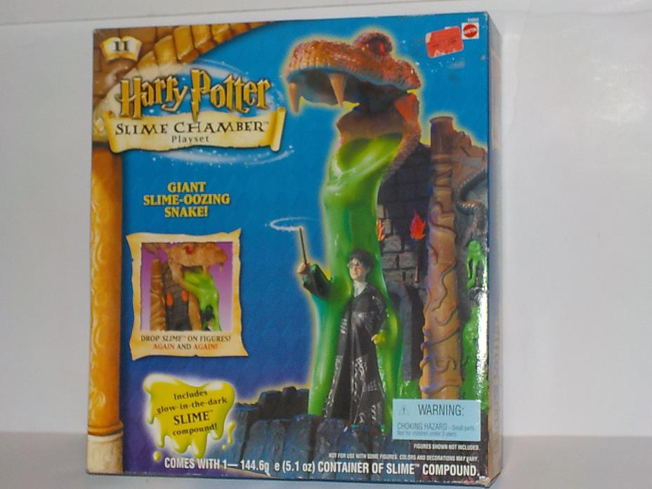 Harry Potter Slime Chamber PLAYSET MISB 2001