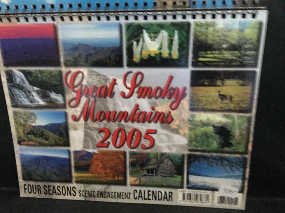 Great Smokey Mountains Four SeasonsScenic Engagement Calendar 2005