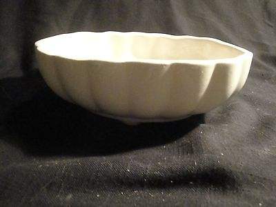 (1051) VTG CERAMIC POTTERY  BOWL PLANTER FOOTED