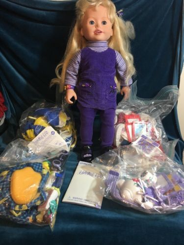 Playmates AMAZING ALLY Doll w Accessories & Pieces lot Huge Lot!!!