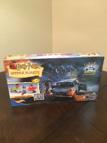 Harry Potter Spider Swarm Hot Wheels Track Set NEW Sealed