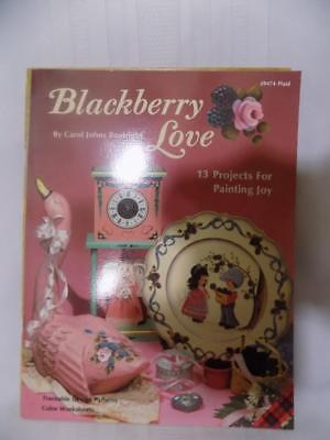 Book/ Guide- Plaid- BLACKBERRY LOVE- 13 Painting Projects