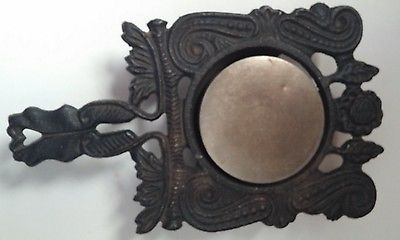 Two Vintage Cast Iron Electric Warming Trivets ~ Only One Works