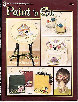 PAINT 'N GO FUN & EASY PAINTING PATTERN BOOK BY VICKI & JOANI SCHREINER