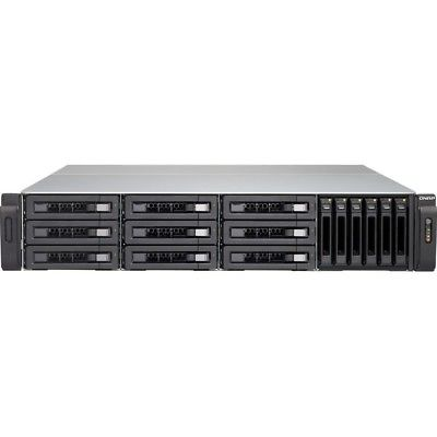 QNAP TVS-1582TU i5 108tb DAS-NAS 9x12000gb Seagate Barracuda Pro Drives
