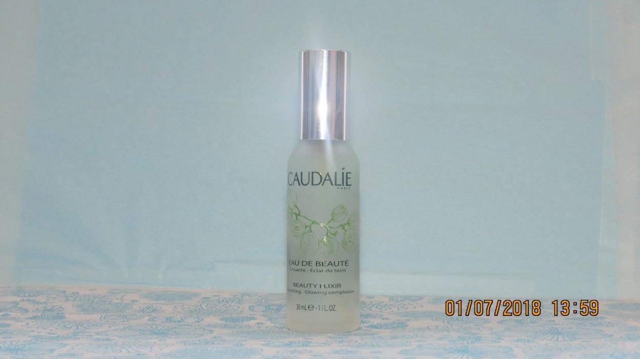Caudalie Beauty Elixir, Face Skin Toner Spray Mist, Eau de Beaute 30ml / 1 oz