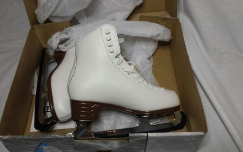 Jackson Ultima Mystique JS1490 White Womens Ice Skates size 5