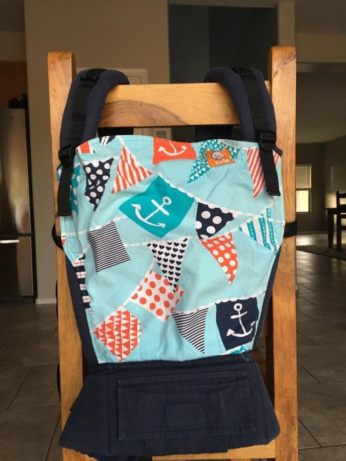 Tula Standard Baby Carrier - Ahoy Matey, Anchors