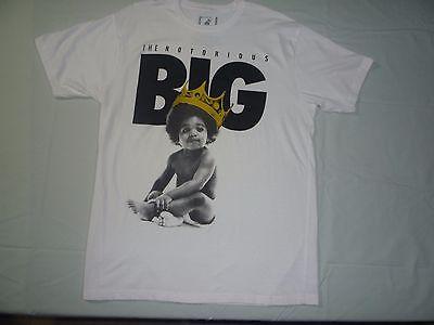 Notorious B.I.G Biggi Brooklyn Mint Black White Crown Short Sleeve Mens Large