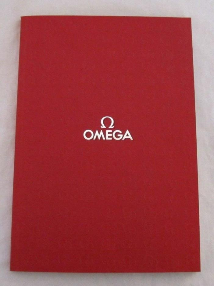 2001 Vintage Omega Watch Catalog Book - Free Shipping