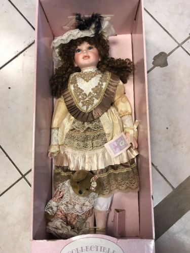 Collectible Memories Porcelain Dolls Jessica 28