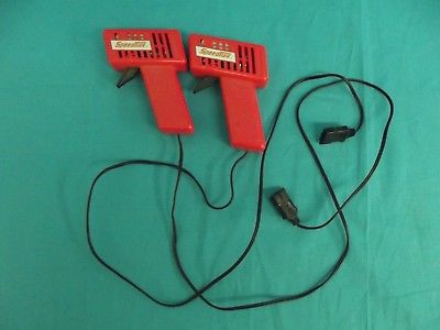 Vintage Artin SpeedTrax Electric Race Car Controllers