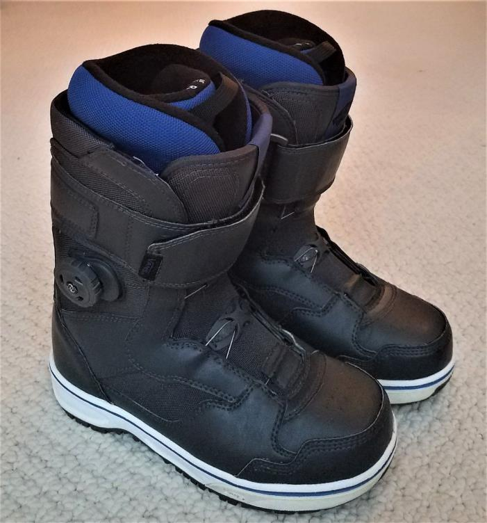 Vans Matlock Mens BOA Snowboard Boots Size 7.5 (Excellent Condition)