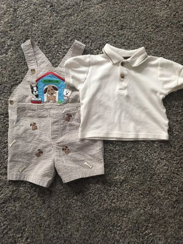 Baby Boy Clothes Size 12 M