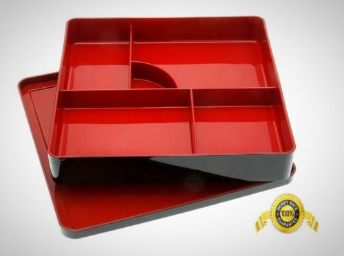 Kotobuki Lacquer Japanese Bento Box Divided Compartments Dinner Parties Catering