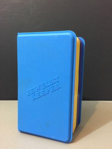 HTF Vintage 1988 Emson Plastic JEWELRY KEEPER Box Storage Chest Organizer Neon