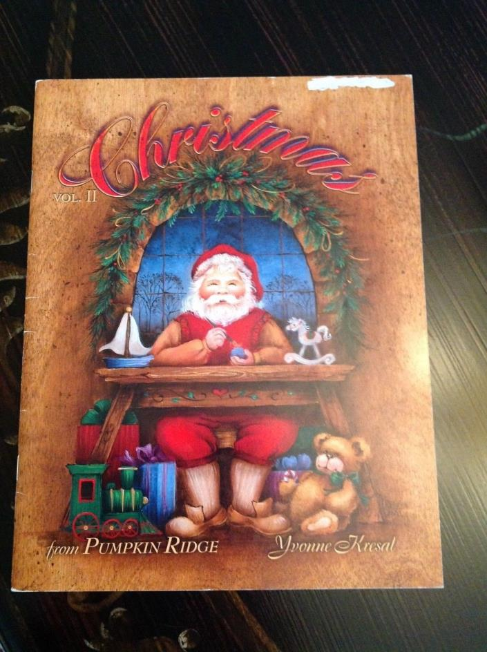 Tole painting book Christmas vol.II