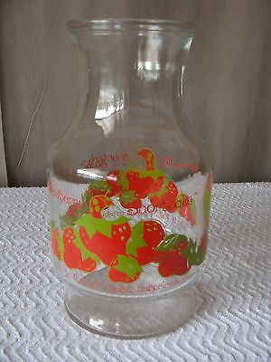 Vintage Strawberry Shortcake Juice Pitcher - American Greetings 1980