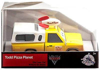 TODD PIZZA PLANET truck disney store EXCLUSIVE 1:43 disney pixar cars nisb 3